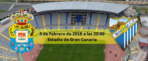 Previa UD Las Palmas - Málaga CF