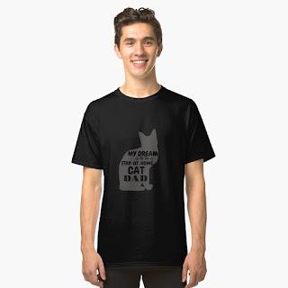 cat dad T-shirt