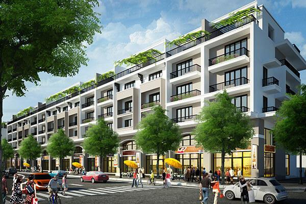 Khu nhà liền kề dự án Mon Bay Hạ Long