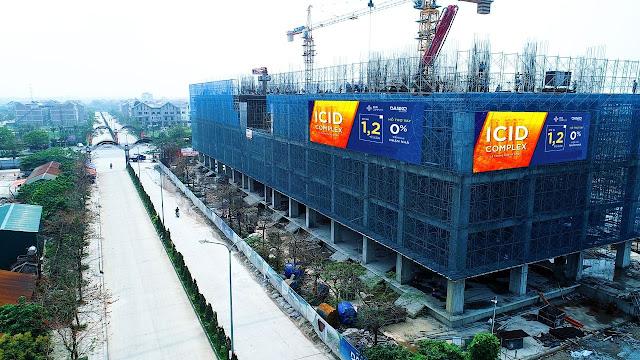 Công trường ICID Complex