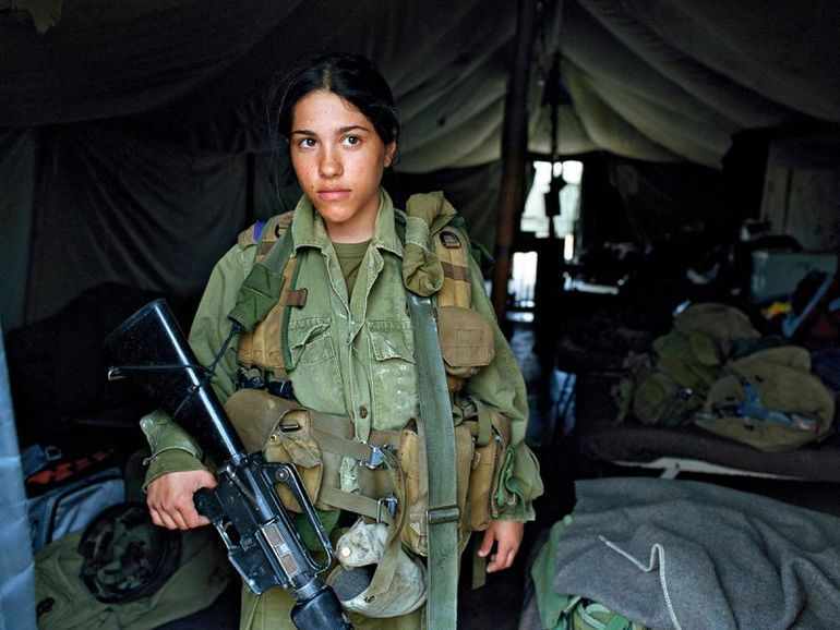 Israeli Army Girls | Female Warriors In Rachel Papo's Photographs