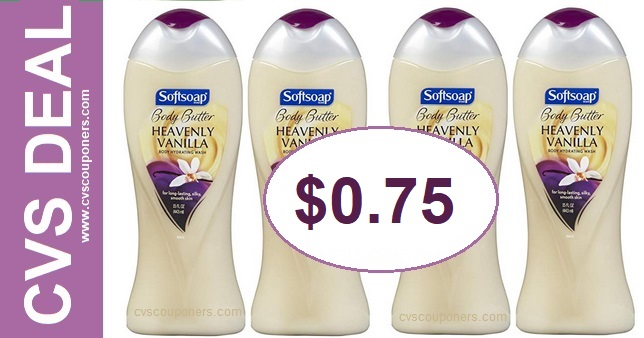 Softsoap Body Wash CVS Deal $0.75 811-817