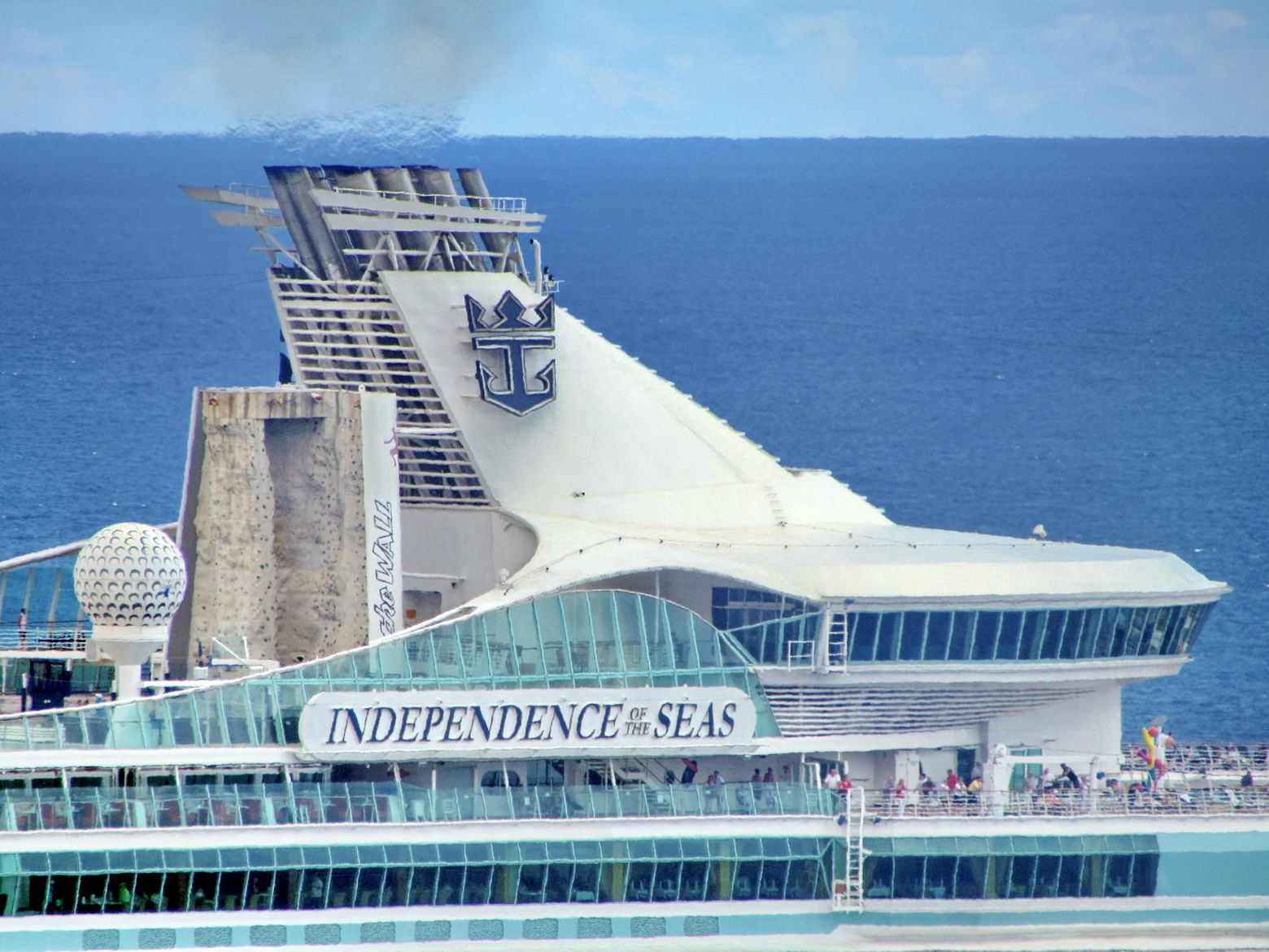 Independence of the seas detail