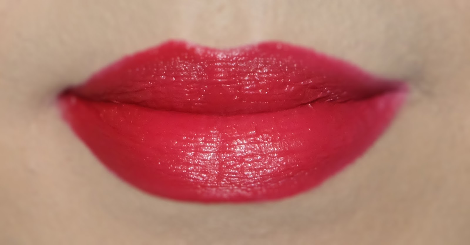 Swatch of Bobbi Brown Art Stick in Harlow Red best lipstick product review
