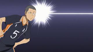 ハイキュー!! アニメ 2期18話 田中龍之介 | HAIKYU!! Karasuno vs Wakutani minami
