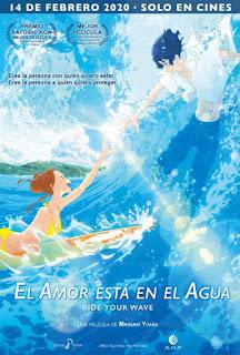Estrenos de cine en España 14-Febrero-2020 : 'El amor está en el agua'
