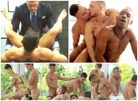 Porno gej złego smoka