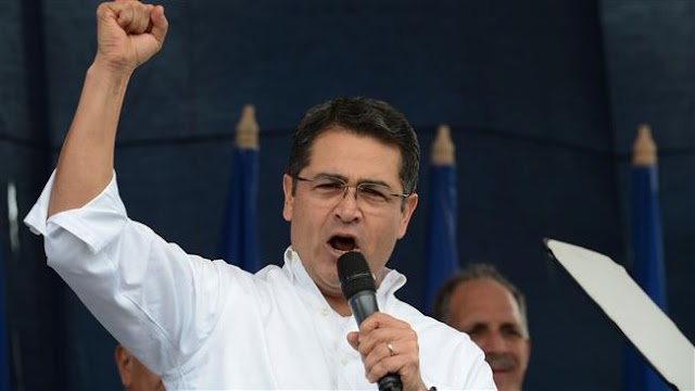 Honduran President Juan Orlando Hernandez announces reelection bid amid constitutional row