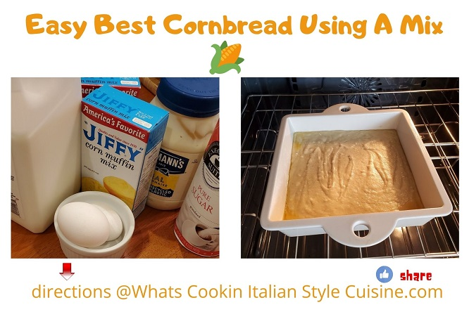how to make great cornbread using muffin mix