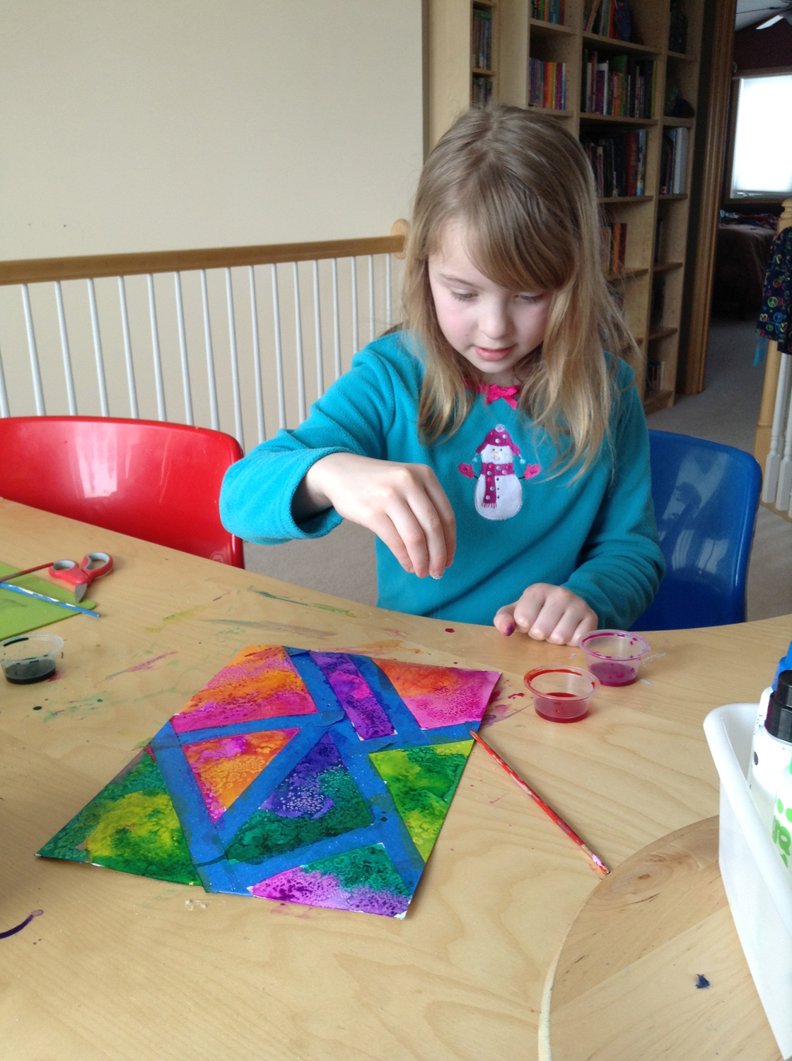 Holly's Arts And Crafts Corner: Art & Science Collide