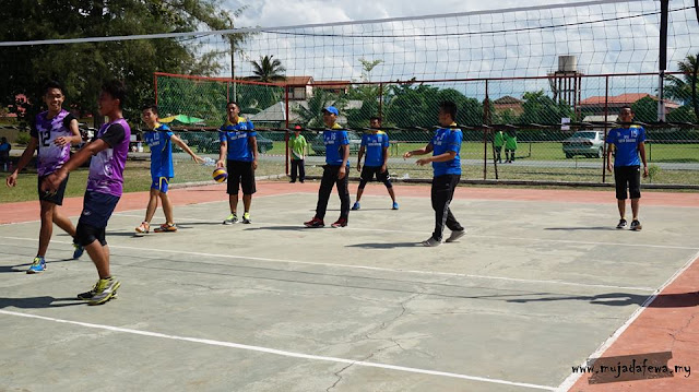 bola tampar, volleyball, hari sukan negara, piala pengarah