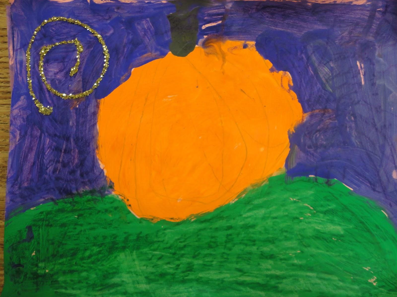 K Secondary Color Pumpkins
