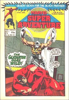 Marvel Super-Adventure #18, Daredevil vs the Gladiator