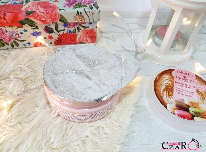 Nawilżający suflet do ciała Francuski deser Faberlic