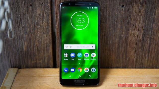 (Tổng hợp) Rom / firmware stock cho Motorola Moto G6 (Ali)
