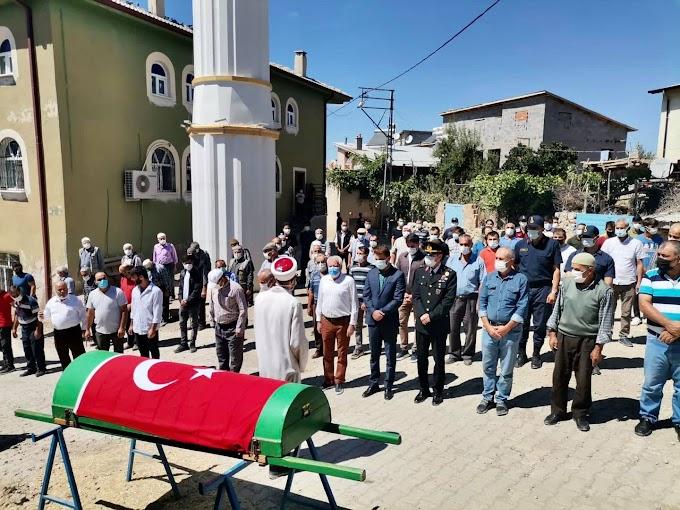Kıbrıs Gazilerimizden Topbaş, son yolculuğuna uğurlandı