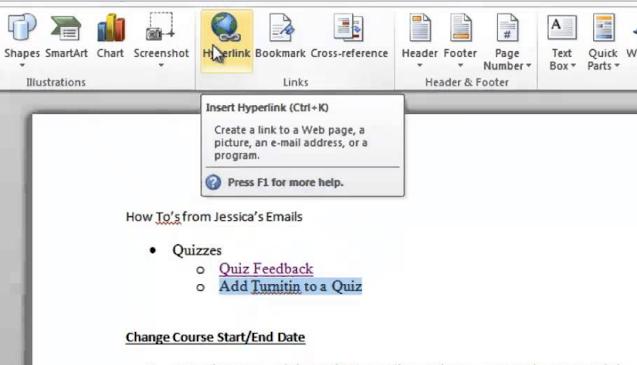 contoh link aktif pada dokumen