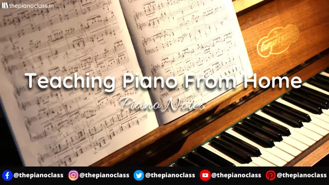 Teaching Piano From Home - Start With These 6 Steps
