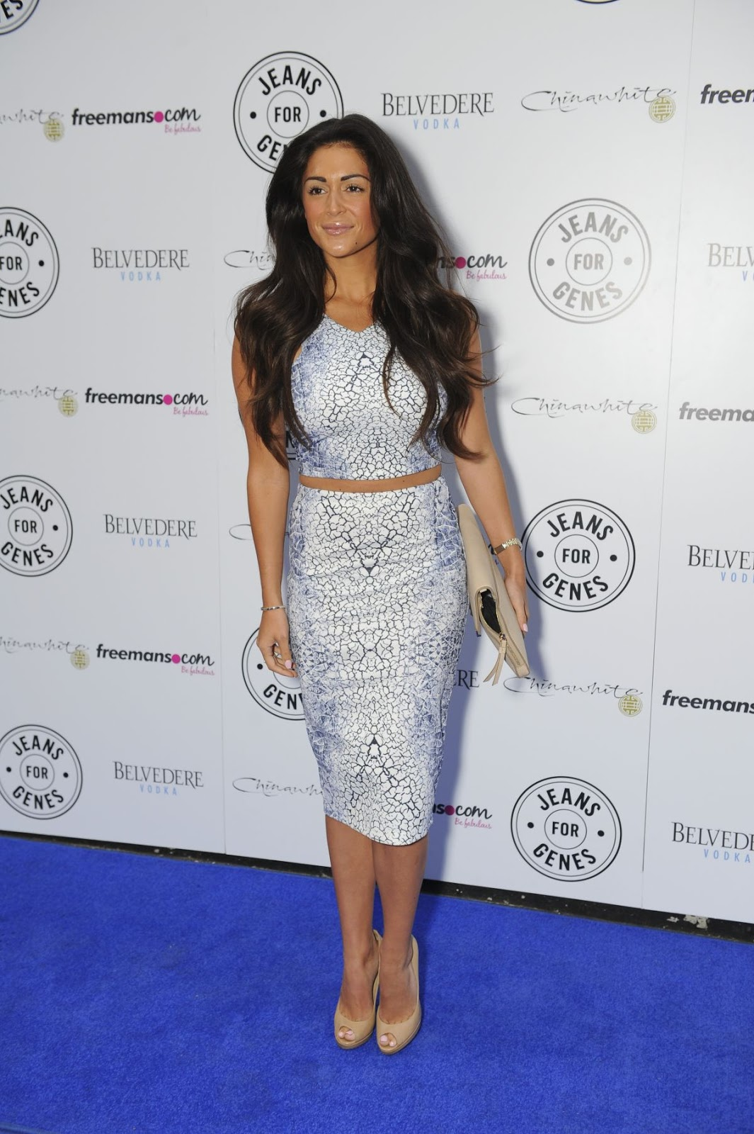 HD Photos of Casey Batchelor at Jeans for Genes Day in London