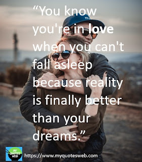 You know you're in love | love quotes