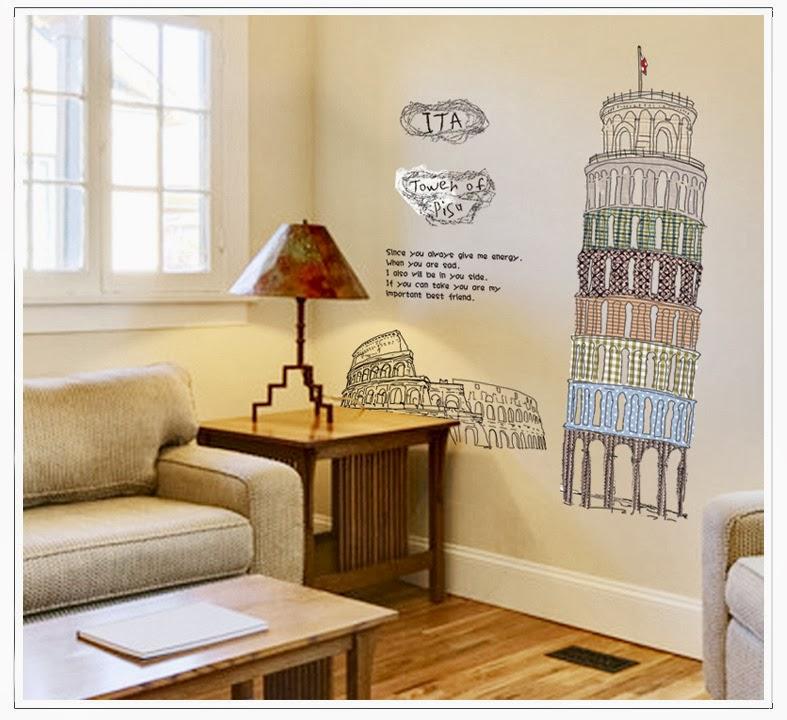 Cinedipendente la torre di pisa sulle pareti di casa - Scritte sulle pareti di casa ...