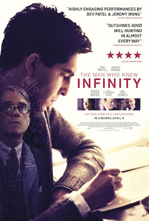 Poster The Man Who Knew Infinity 2015