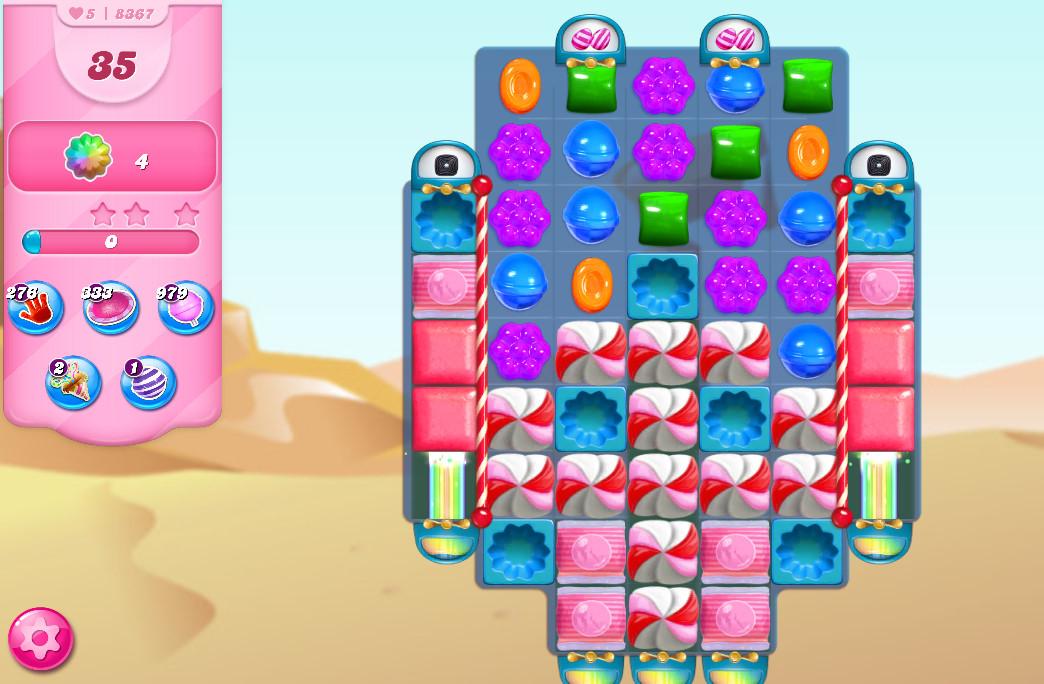Candy Crush Saga level 8367