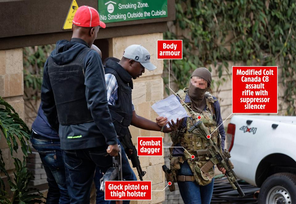 EXCLUSIVE: How Masked British Special Forces Operative Helped End Riverside Terror