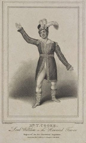Mr. T. Cooke (Lord William) en 1813.