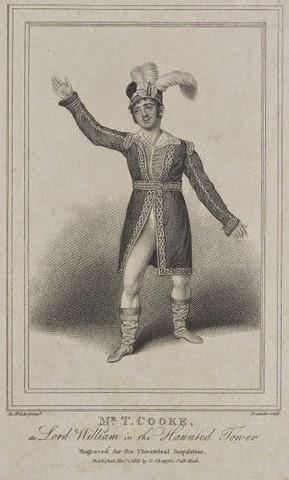 Mr. T. Cooke (Lord William) en 1813.