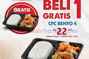 Promo CFC Bento 4 Beli 1 Gratis 1 Periode 20 - 24 Januari 2020