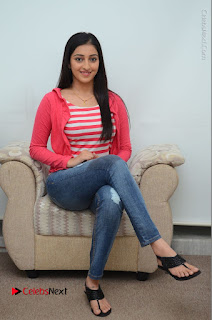 Telugu Actress Mouryani Latest Pos in Blue Denim Jeans  0093.JPG