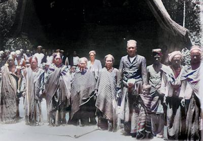 keluarga raja di pulau pardopur atau pulau sibandang
