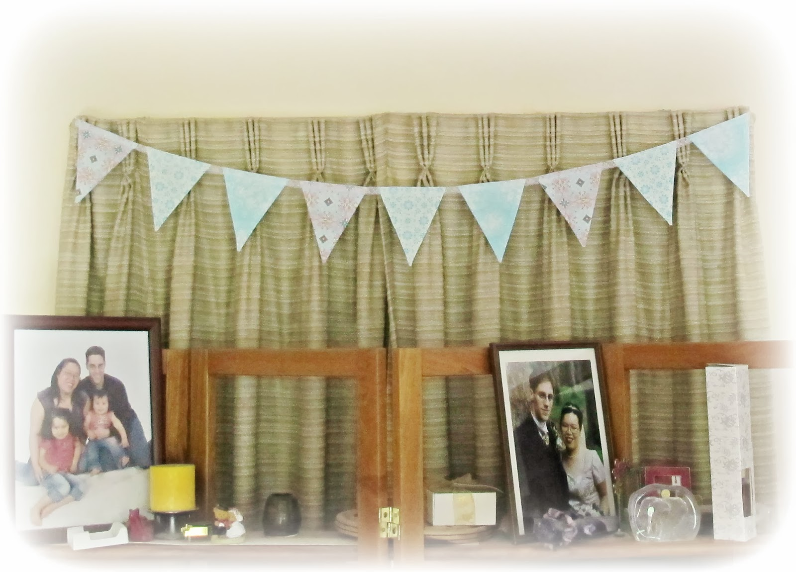 image aqua blue bunting dena designs free spirit pretty little things white lace homespun