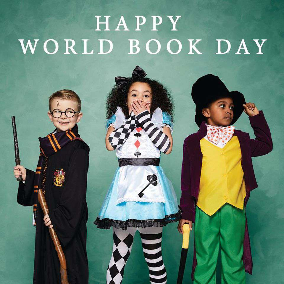 World Book Day Wishes for Whatsapp