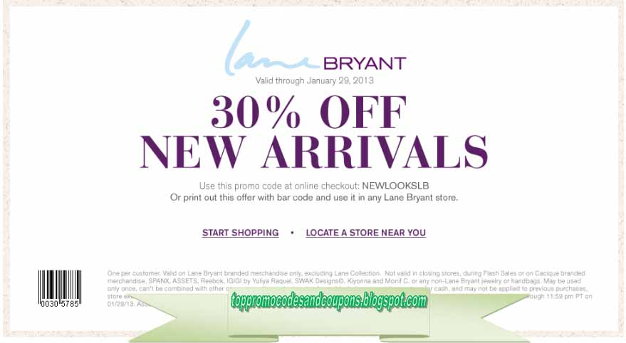 lane bryant discount code free shipping