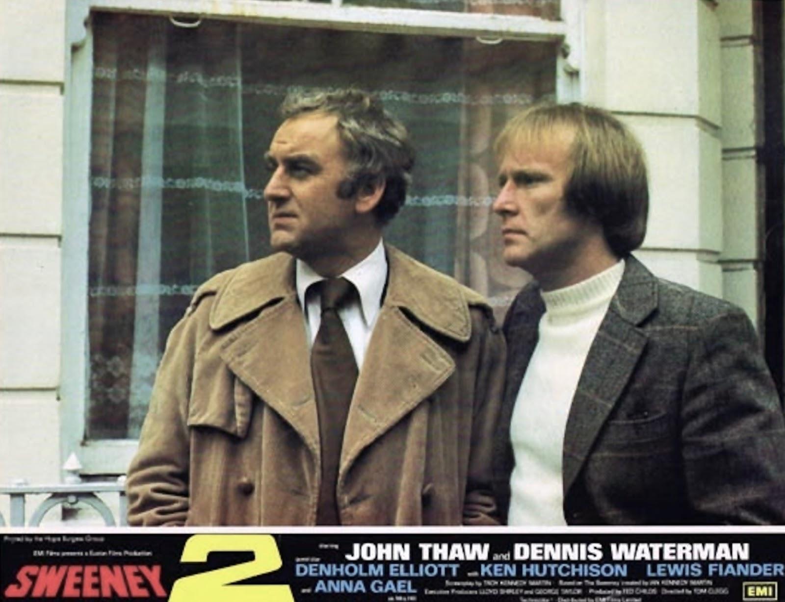 Sweeney original 1977 lobby card John Thaw Diane Keen