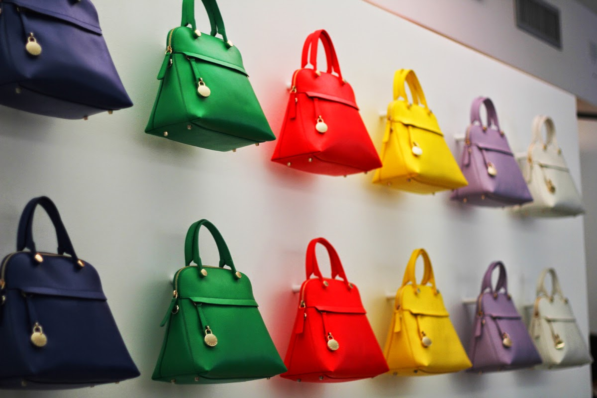 color fashion style furla candy bag
