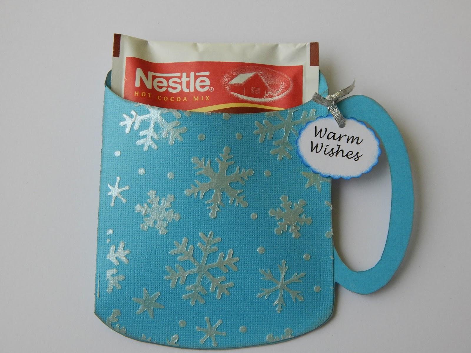 Whimsytouches Hot Chocolate Christmas Mug