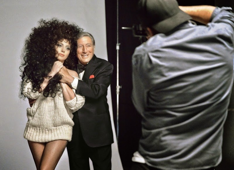 Tony Bennett & Lady Gaga in H&M Holiday 2014, Tony Bennett, Lady Gaga, H&M Holiday 2014, Winter Collection, Fashion News, H&M