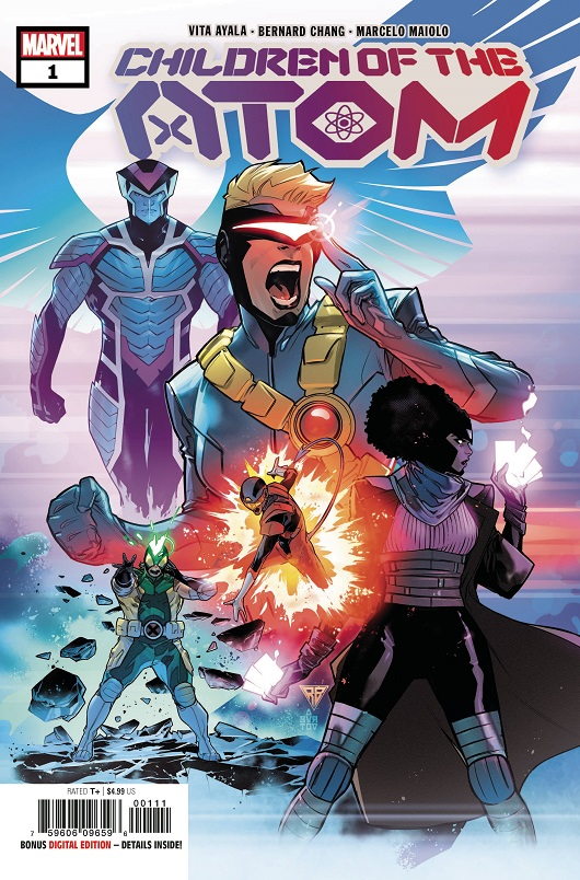Cover of Children of the Atom #1
