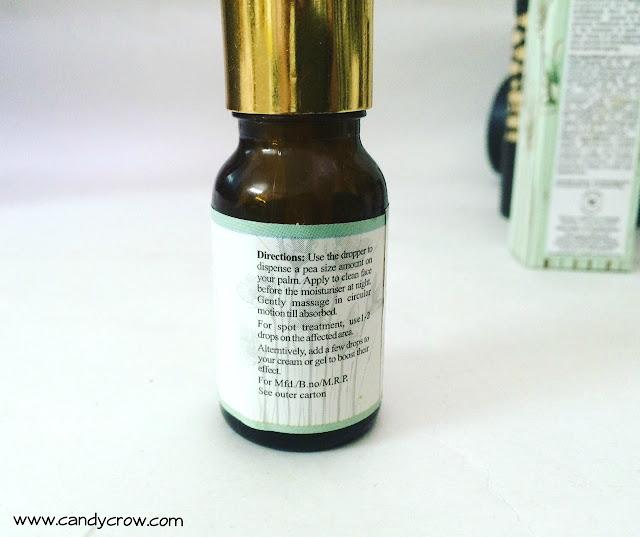 Just Herbs Beauty Elixir Face Serum Review