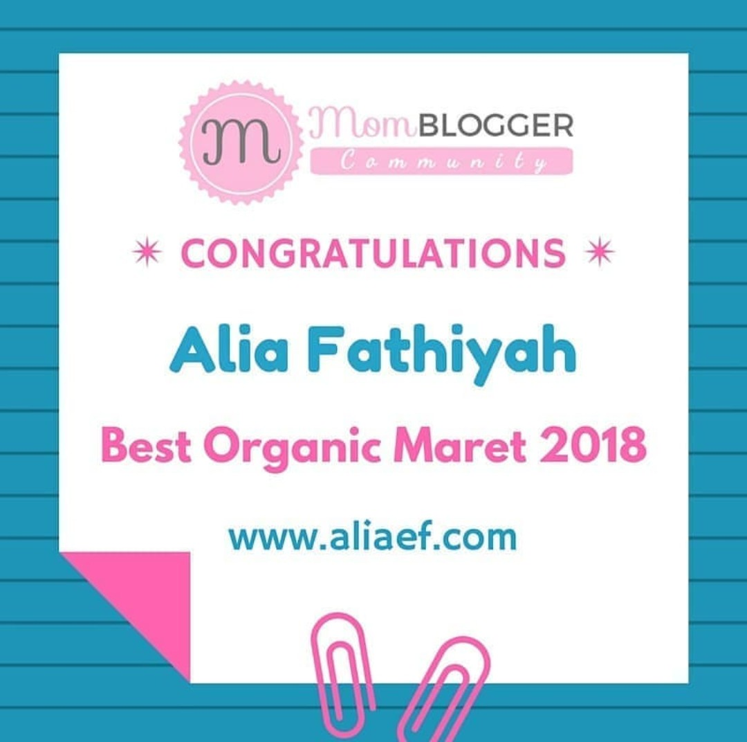 Best Organic Maret 2018 by Momblogger Community