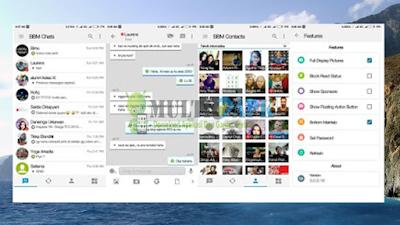 Download BBM Mod iOS Light 11 Base Versi 3.0.1.25 Apk Android Terbaru