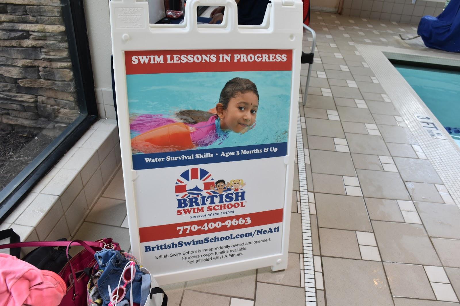 Swimming and Survival Training at British Swim School  via  www.productreviewmom.com