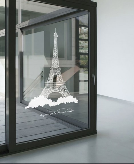 FASHION DESIGN: Eiffel Tower WALL ART DECOR