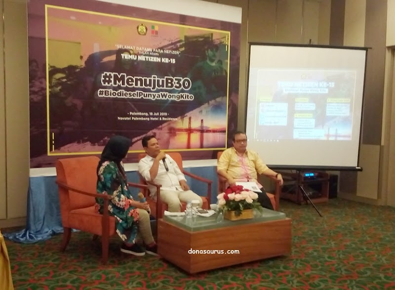 Biodiesel Penggerak Temu Netizen 15 Palembang