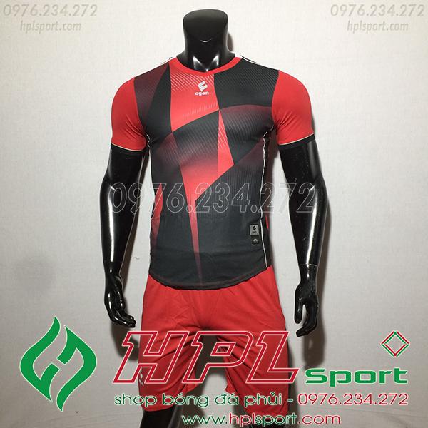 Áo ko logo Egan CaC màu đỏ