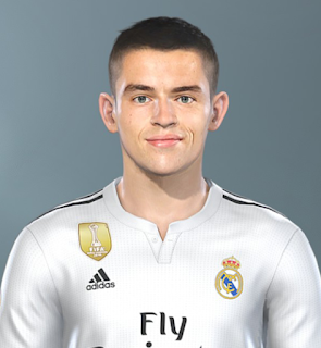New faces updates for Pro Evolution Soccer  Update, PES 2019 Faces Álvaro Fidalgo by Sofyan Andri