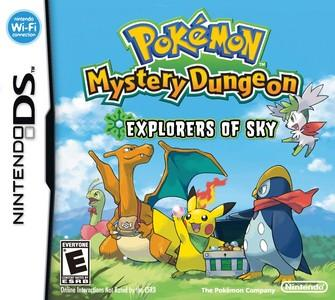 Rom Pokemon Mystery Dungeon Explorers of the Sky NDS